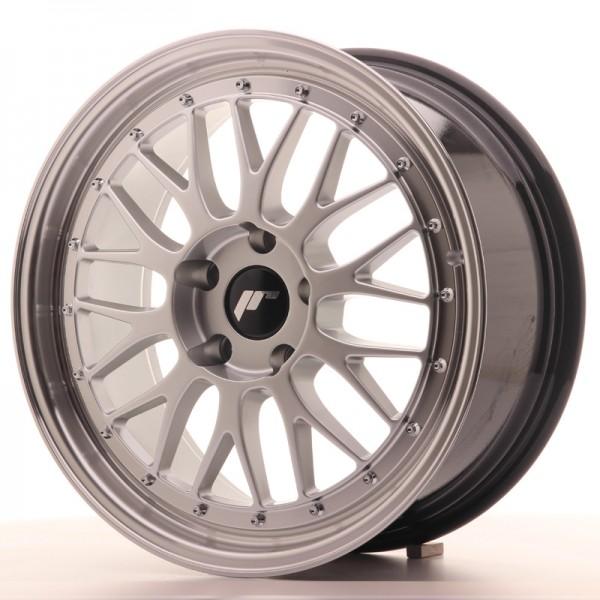 JR Wheels JR23 18x8 ET40 5x112 Hyper Silver w/Machined Lip