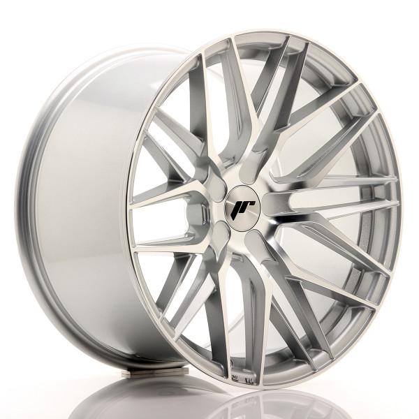 JR Wheels JR28 19x10,5 ET20-40 5H BLANK Silver Machined Face