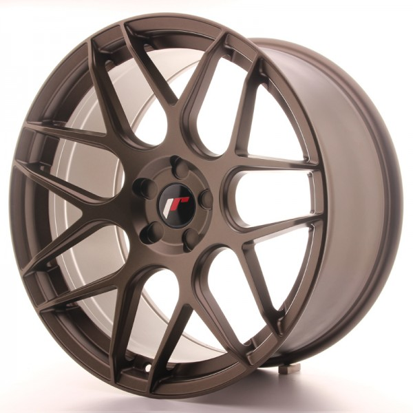 JR Wheels JR18 20x10 ET20-45 5H BLANK Matt Bronze