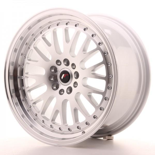 JR Wheels JR10 18x9,5 ET18 5x114/120 Silver Machined Face