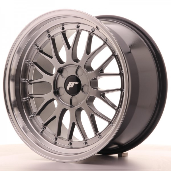 JR Wheels JR23 18x9,5 ET25-48 5H BLANK Hyper Black w/Machined Lip