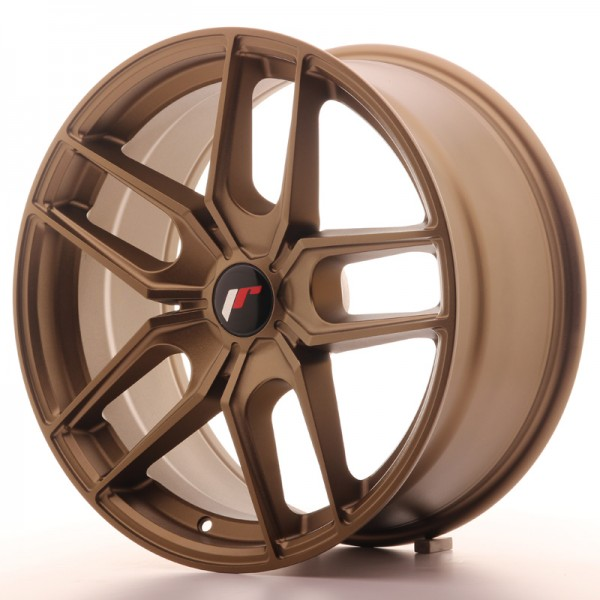 JR Wheels JR25 18x8,5 ET20-40 5H BLANK Bronze