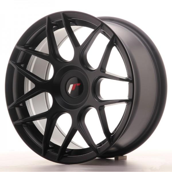 JR Wheels JR18 17x8 ET25-35 BLANK Matt Black