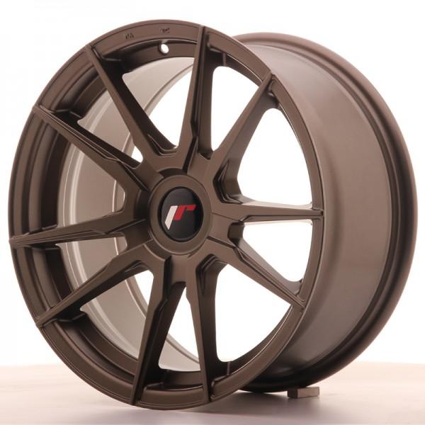 JR Wheels JR21 17x8 ET35 BLANK Matt Bronze
