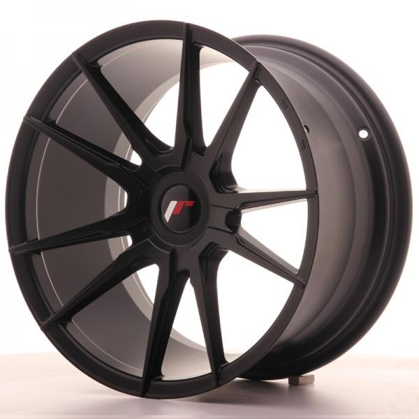 JR Wheels JR21 18x9,5 ET20-40 BLANK Matt Black