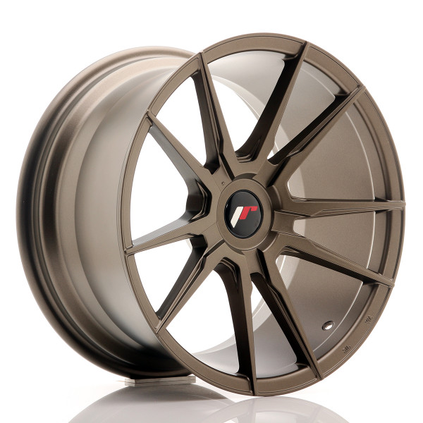 JR Wheels JR21 18x9,5 ET20-40 BLANK Matt Bronze
