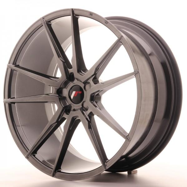 JR Wheels JR21 22x10,5 ET15-52 5H BLANK Hyper Black