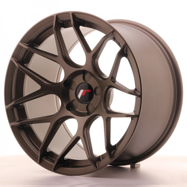 JR Wheels JR18 18x10,5 ET0-25 5H BLANK Matt Bronze
