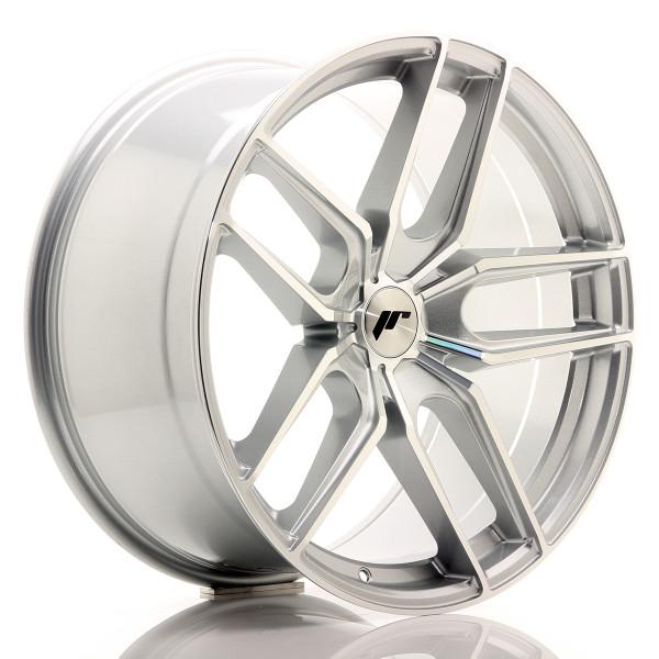 JR Wheels JR25 20x10 ET20-40 5H BLANK Silver Machined Face
