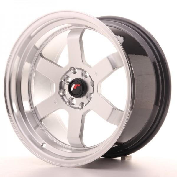 JR Wheels JR12 17x9 ET25 5x112/120 Hyper Silver w/Machined Lip