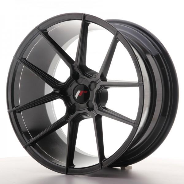 JR Wheels JR30 20x10 ET20-40 5H BLANK Hyper Black