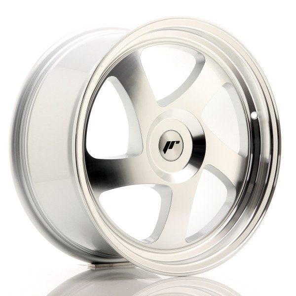 JR Wheels JR15 18x8,5 ET20-40 BLANK Silver Machined Face