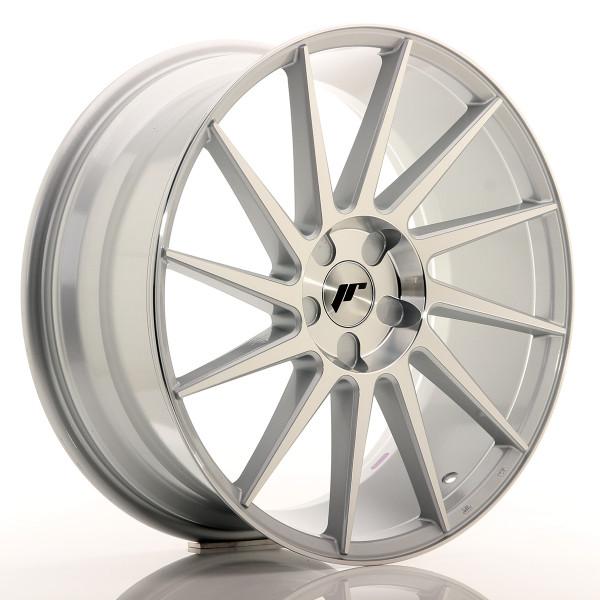 JR Wheels JR22 20x8,5 ET40 5H BLANK Silver Machined Face