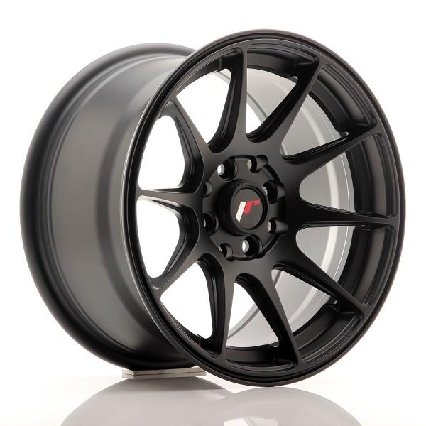 JR Wheels JR11 15x8 ET25 4x100/114 Flat Black