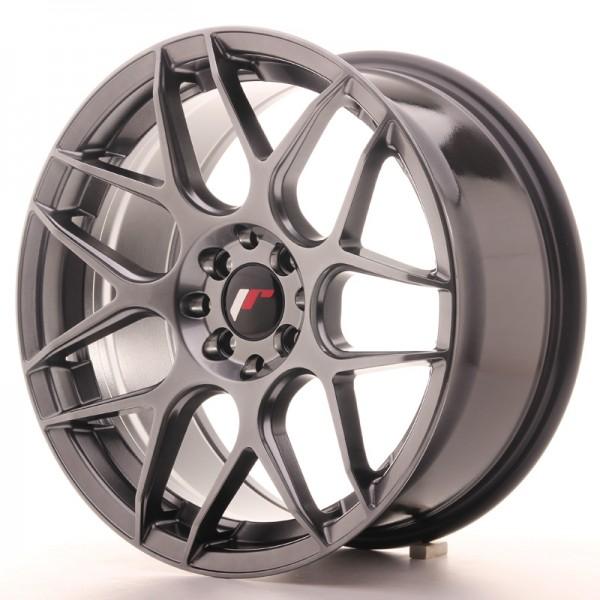 JR Wheels JR18 17x8 ET35 4x100/114 Hyper Black