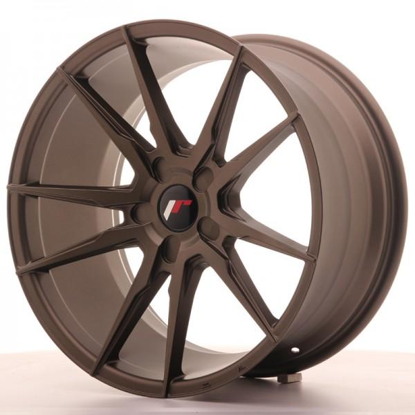 JR Wheels JR21 19x9,5 ET35-40 5H BLANK Matt Bronze