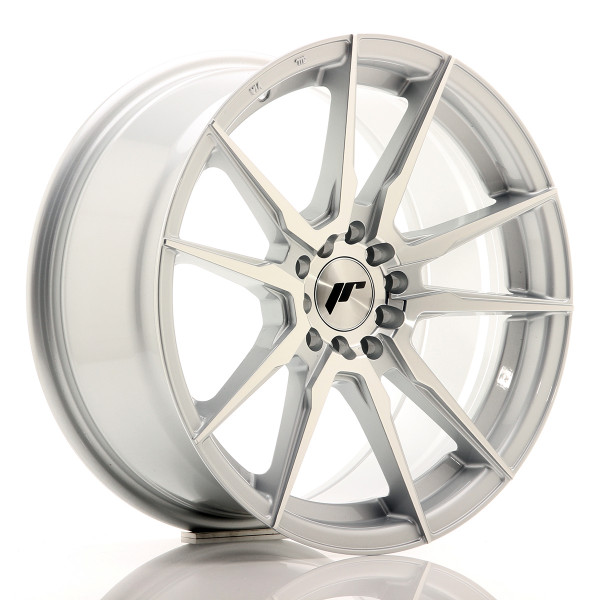 JR Wheels JR21 17x8 ET35 5x110/120 Silver Machined Face