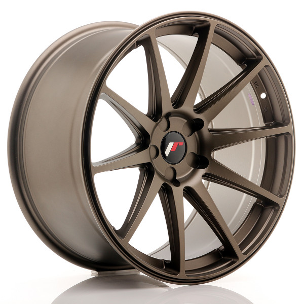 JR Wheels JR11 20x10 ET20-40 5H BLANK Matt Bronze