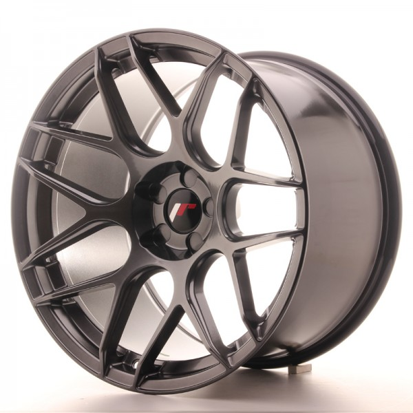 JR Wheels JR18 19x11 ET15-30 5H BLANK Hyper Black