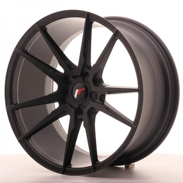 JR Wheels JR21 20x10 ET20-40 5H BLANK Matt Black