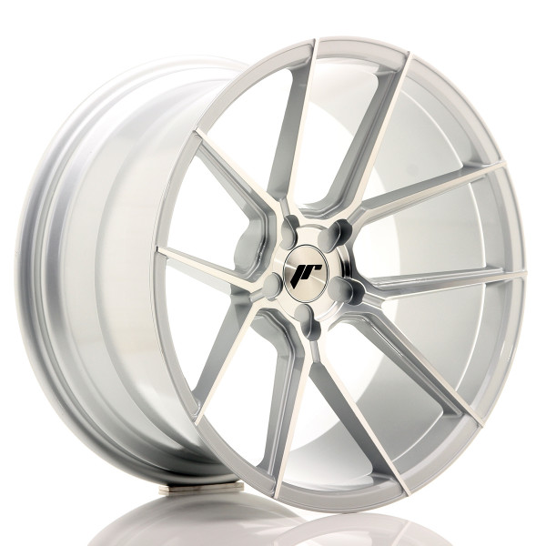 JR Wheels JR30 20x11 ET30-50 5H BLANK Silver Machined Face