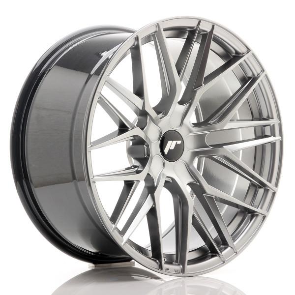 JR Wheels JR28 20x10 ET40 5H BLANK Hyper Black