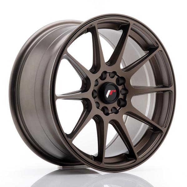 JR Wheels JR11 17x8,25 ET35 4x100/114,3 Matt Bronze