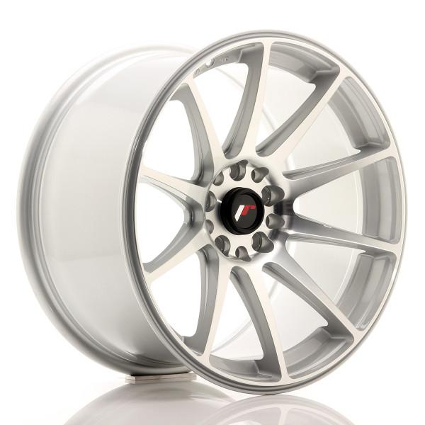 JR Wheels JR11 18x9,5 ET22 5x114/120 Silver Machined