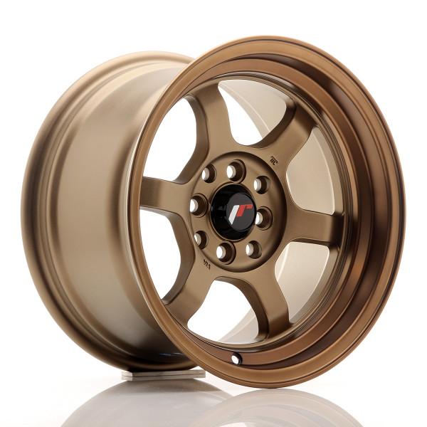 JR Wheels JR12 15x8,5 ET13 4x100/114 Dark Anodize Bronze