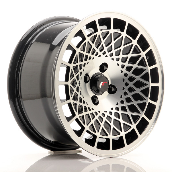 JR Wheels JR14 15x8 ET20 4x100 Black Machined