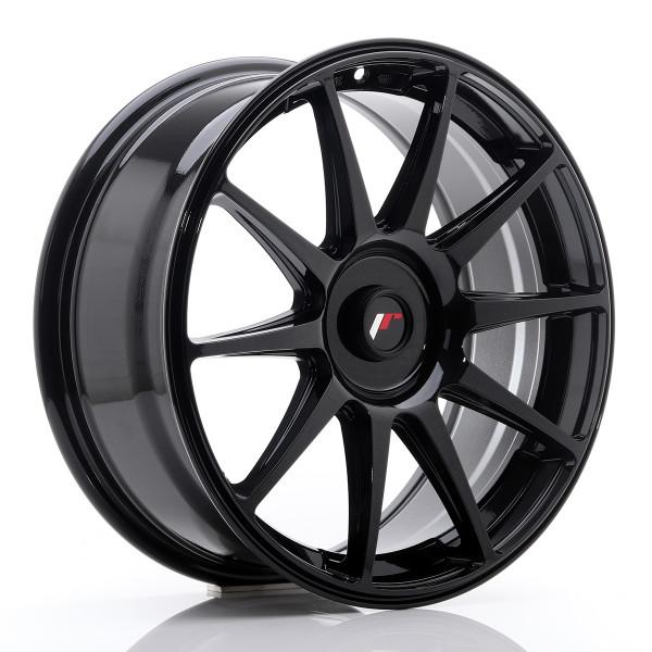 JR Wheels JR11 18x7,5 ET35-40 BLANK Glossy Blac