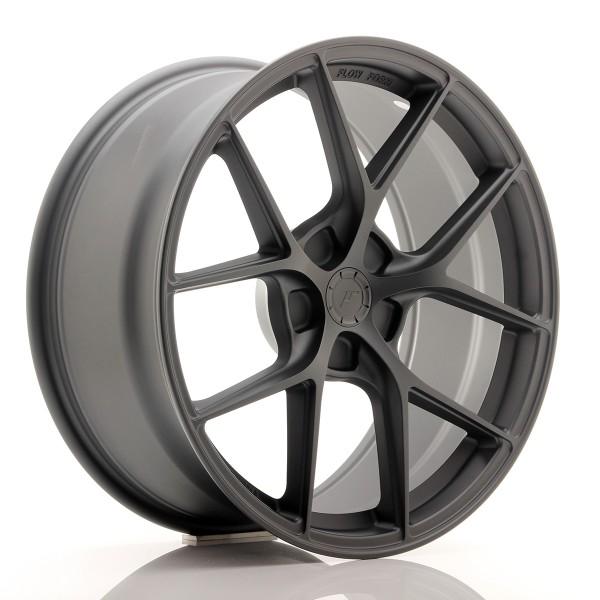JR Wheels SL01 19x8,5 ET20-45 5H BLANK Matt Gun Metal