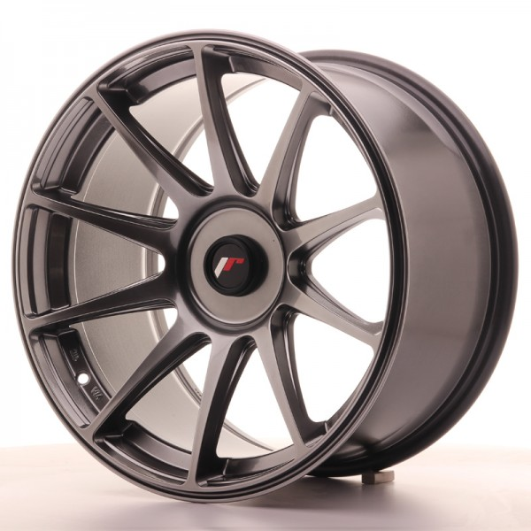JR Wheels JR11 18x9,5 ET20-30 BLANK Dark Hyper Black