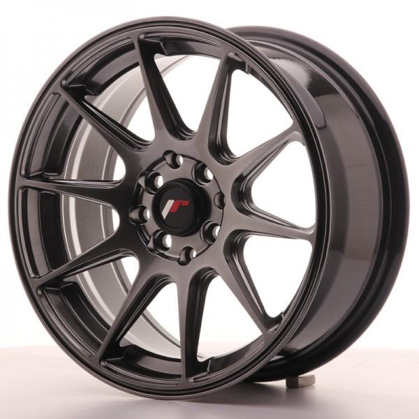 JR Wheels JR11 16x7 ET30 4x100/114 Dark Hyper Black