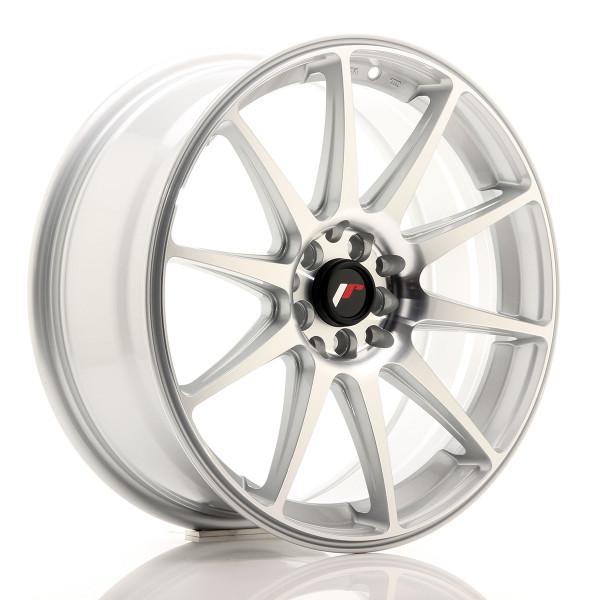 JR Wheels JR11 18x7,5 ET40 5x112/114 Silver Machined Face