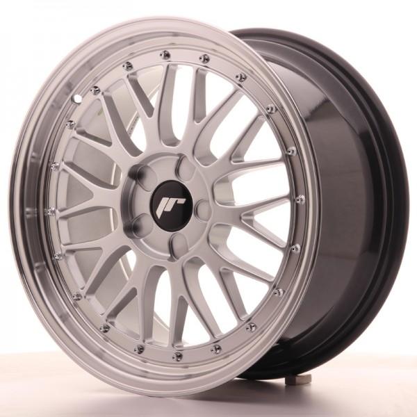 JR Wheels JR23 18x8,5 ET25-48 5H BLANK Hyper Silver w/Machined Lip