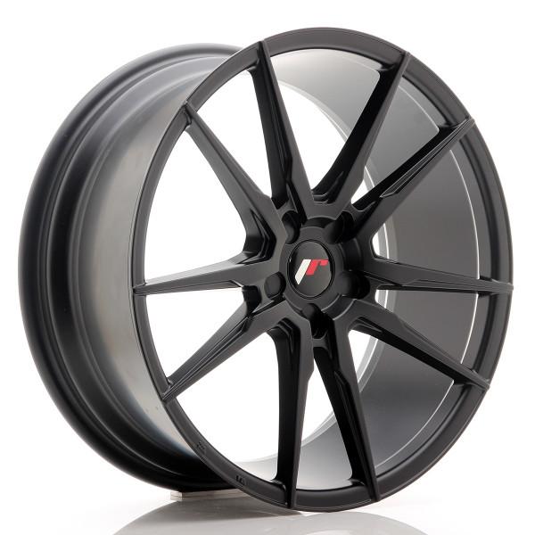 JR Wheels JR21 20x8,5 ET20-40 5H BLANK Matt Black