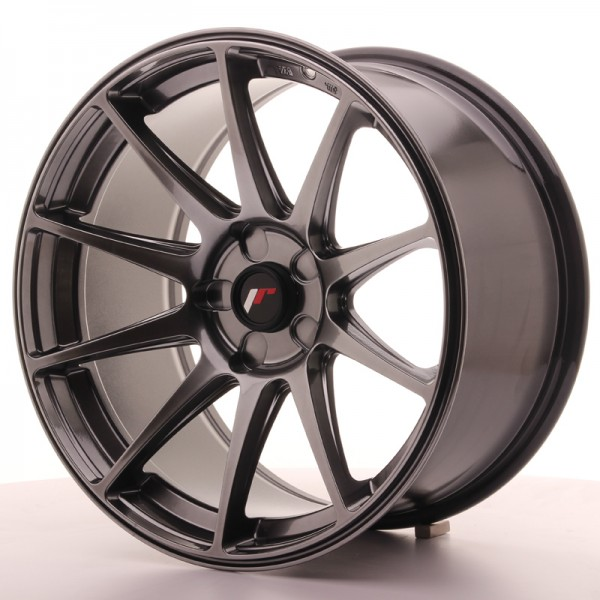 JR Wheels JR11 18x9,5 ET30 5H BLANK Dark Hyper Black