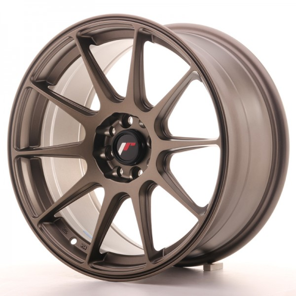 JR Wheels JR11 17x8,25 ET35 5x112/114,3 Matt Bronze