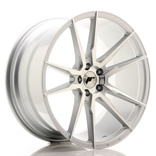 JR Wheels JR21 20x10 ET40 5x112 Silver Machined Face