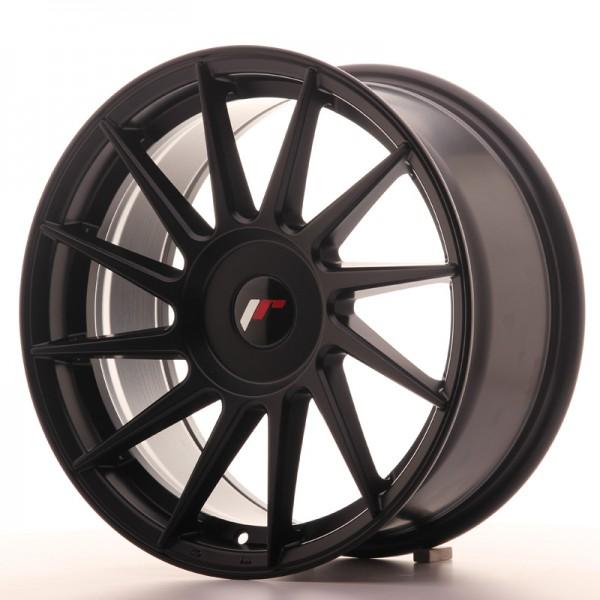 JR Wheels JR22 17x8 ET35 BLANK Matt Black