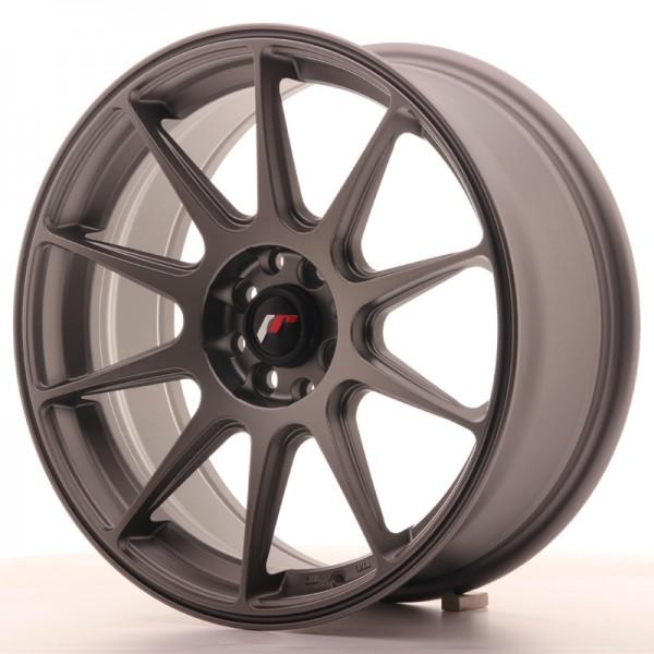 JR Wheels JR11 17x7,25 ET35 5x100/114,3 Matt Gun Metal