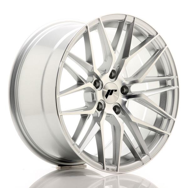 JR Wheels JR28 18x9,5 ET40 5x112 Silver Machined Face