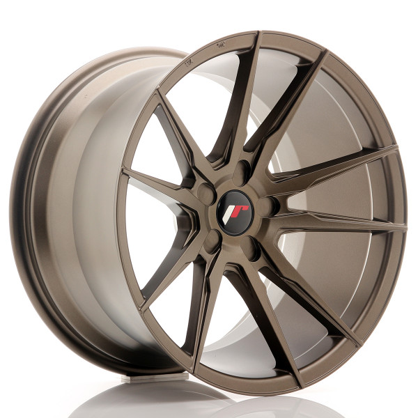 JR Wheels JR21 19x11 ET15-30 5H BLANK Matt Bronze
