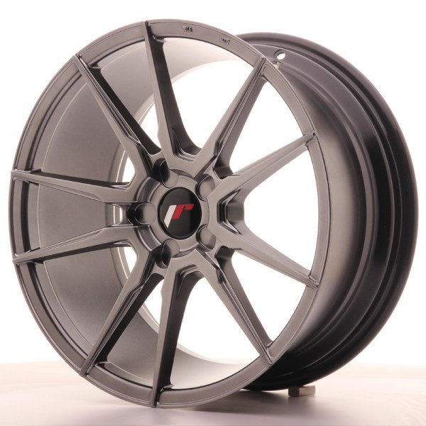 JR Wheels JR21 18x8,5 ET40 5H BLANK Hyper Black