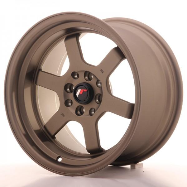 JR Wheels JR12 16x9 ET10 4x100/114 Matt Bronze