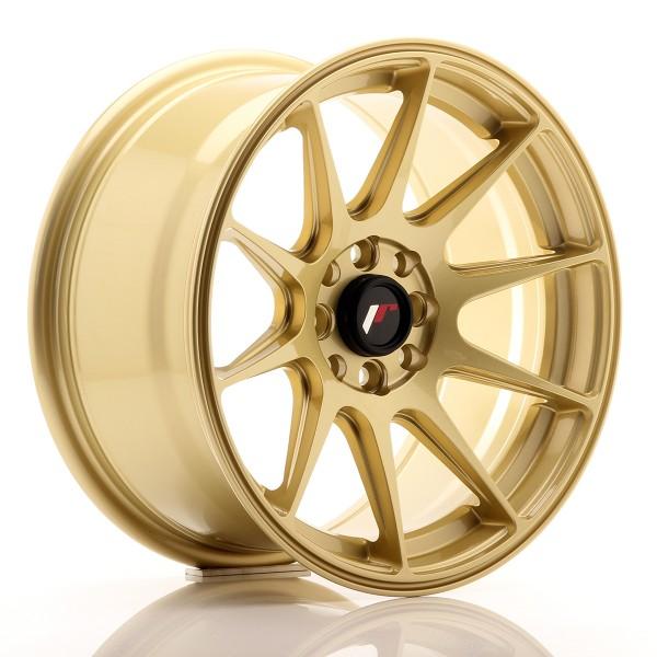 JR Wheels JR11 16x8 ET25 4x100/108 Gold