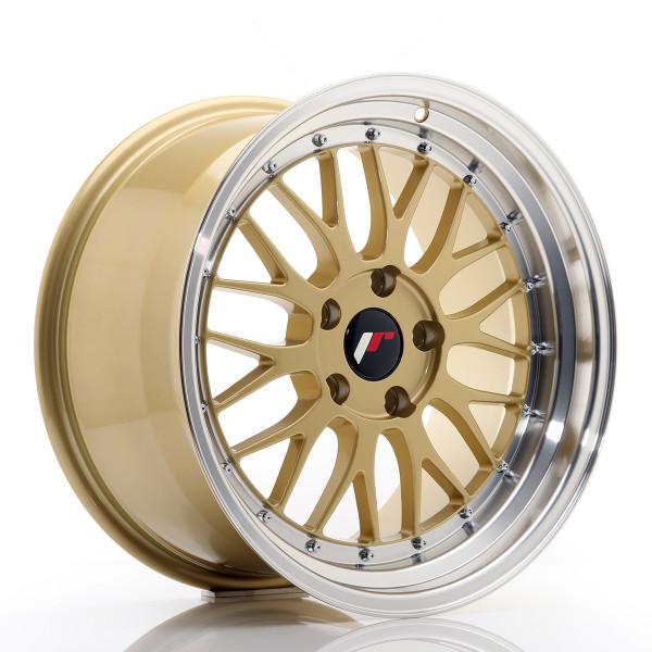JR Wheels JR23 18x9,5 ET35 5x120 Gold w/Machined Lip