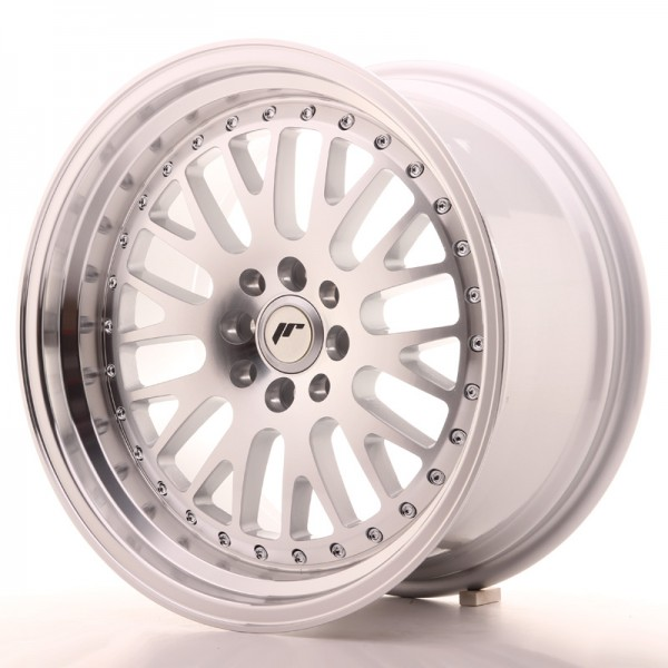 Japan Racing JR10 17x9 ET20 5x114/120 Machined Sil
