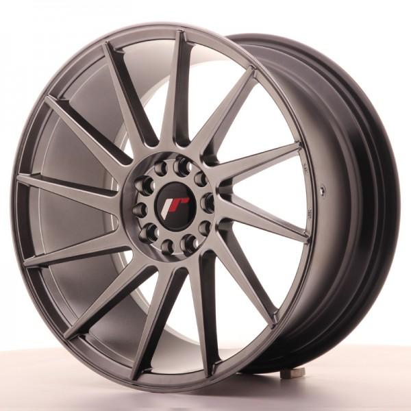 JR Wheels JR22 18x8,5 ET35 5x100/120 Hyper Black